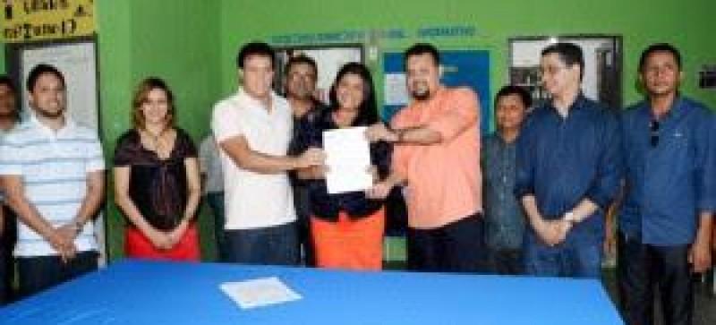 Amapá do Maranhão terá o primeiro prédio escolar da rede estadual