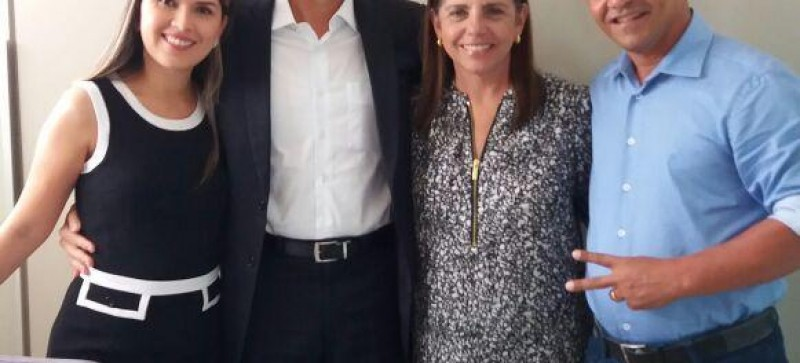Ney Passinho participa de reunião com Roseana Sarney