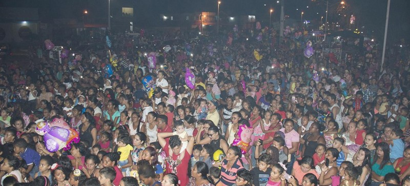 A comemoração dos 23 anos de Maracaçumé começou com show infantil