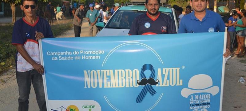 Campanha Novembro Azul encerra projeto Saúde e Qualidade de Vida na Escola