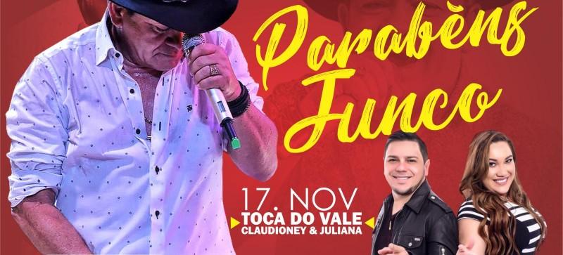 Contagem regressiva para a comemoração pelos 23 anos de Junco do Maranhão