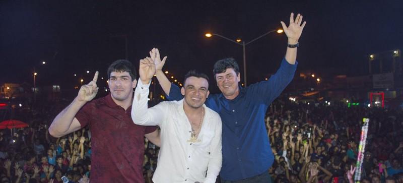 Maracaçumé celebrou com um grande show os seus 23 anos de emancipação política