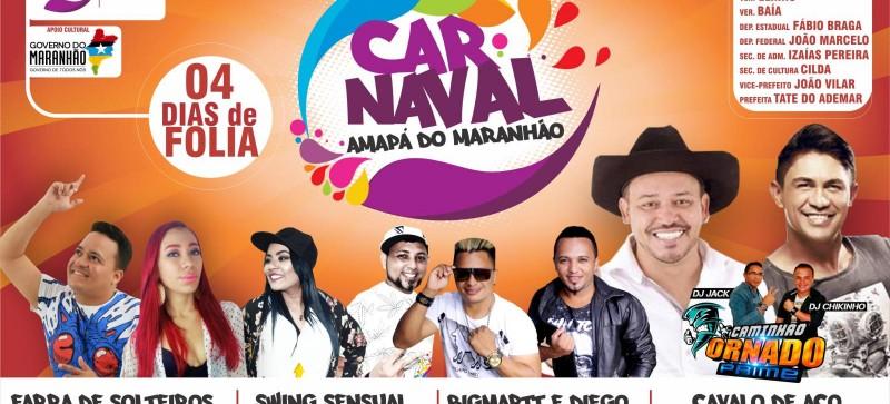 Carnaval de Amapá do Maranhão 2018 vai ser bom demais