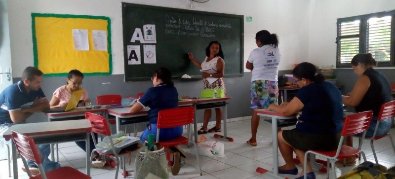 Educação de Amapá do Maranhão inicia o ano pautada na formação dos servidores