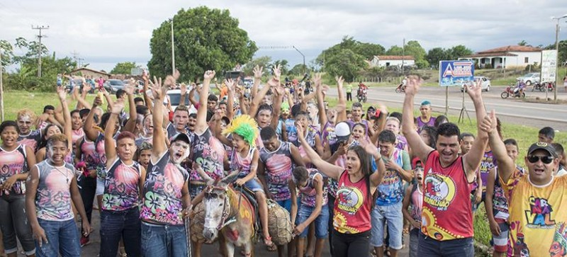 O carnaval de Junco do Maranhão chegou ao fim com a popularidade de Antonio Filho em alta