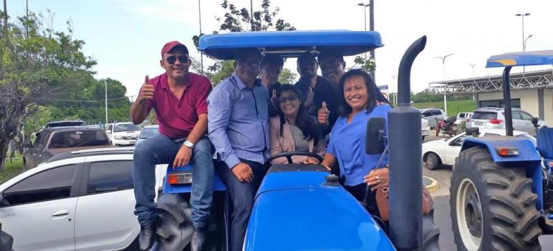 Prefeitura de Amapá do Maranhão é beneficiada com uma patrulha mecanizada do Governo do Estado