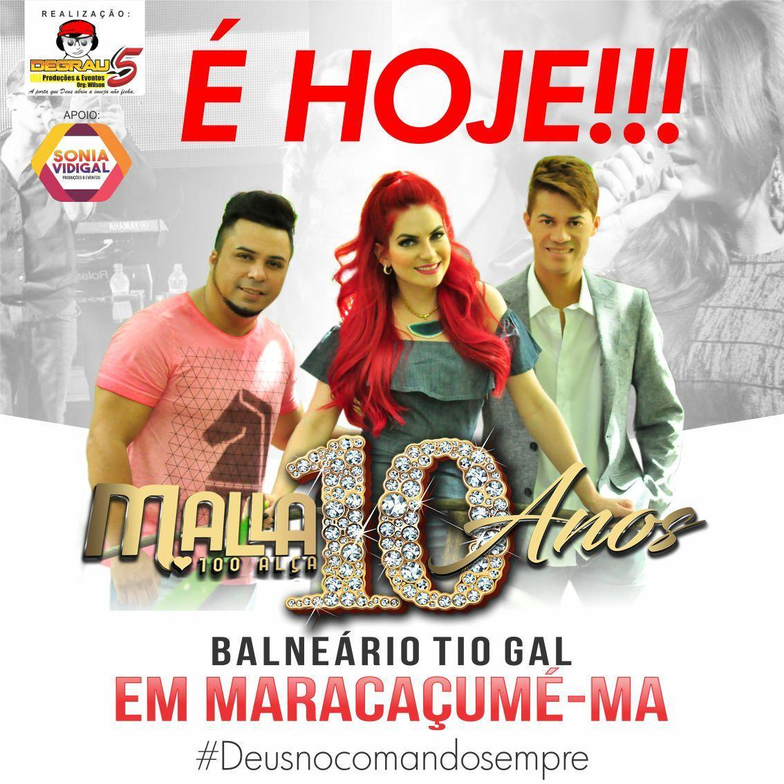 Show da Banda Mala 100 Alça acontece hoje, 16 - Blog Fernando Nascimento fe9b8b6bd0