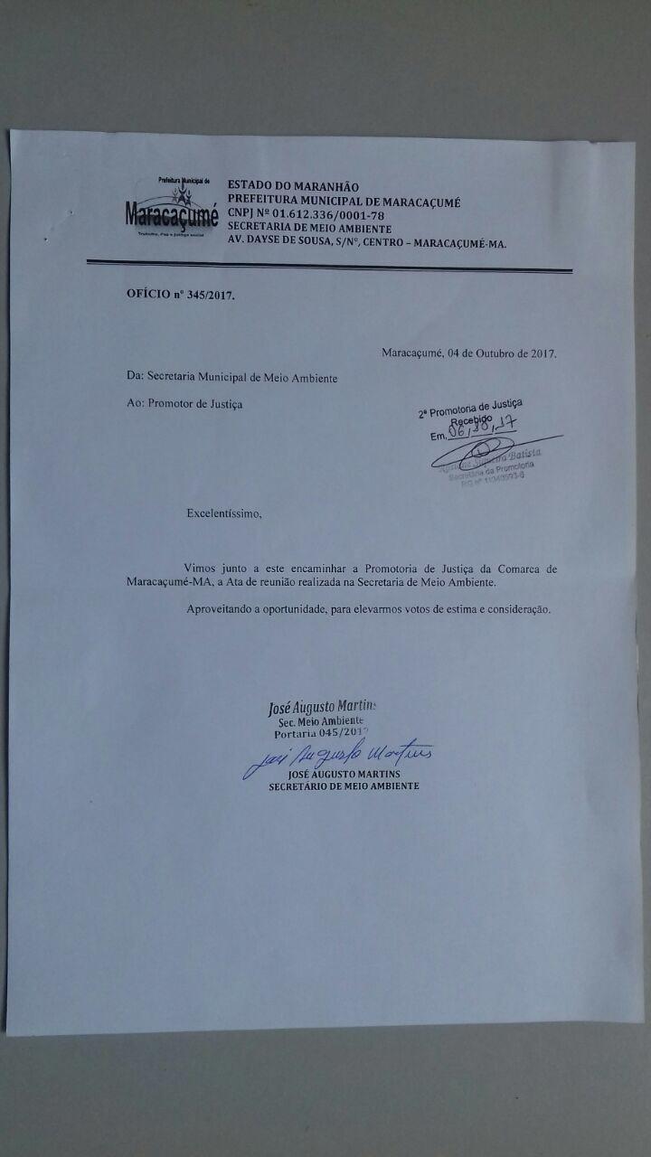 Secretaria de Meio Ambiente firma parcerias em defesa do Rio Maracaçumé