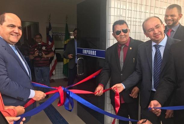 Novo prédio da Promotoria de Justiça é entregue à sociedade nunesfreirense