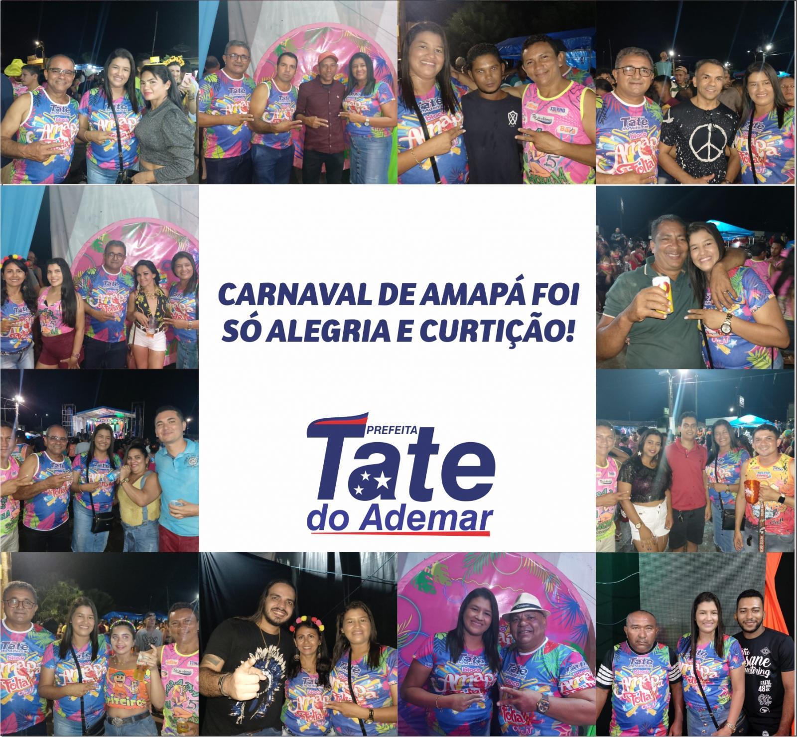 Carinho dos foliões com a prefeita de Amapá do Maranhão é resultado de boa gestão