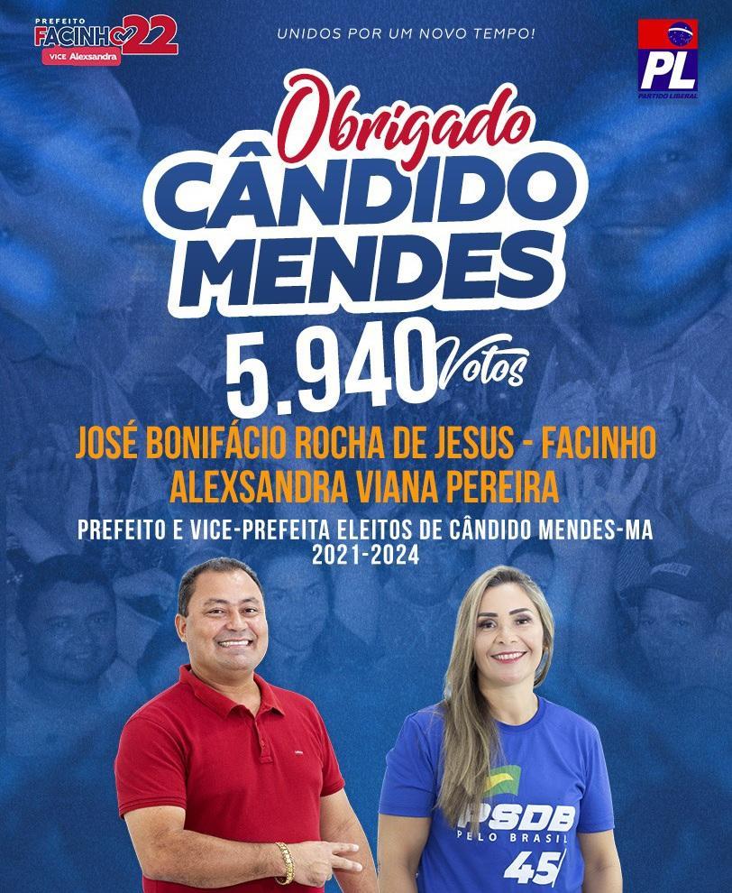 Facinho tem votação histórica e em janeiro assume o Executivo em Cândido Mendes