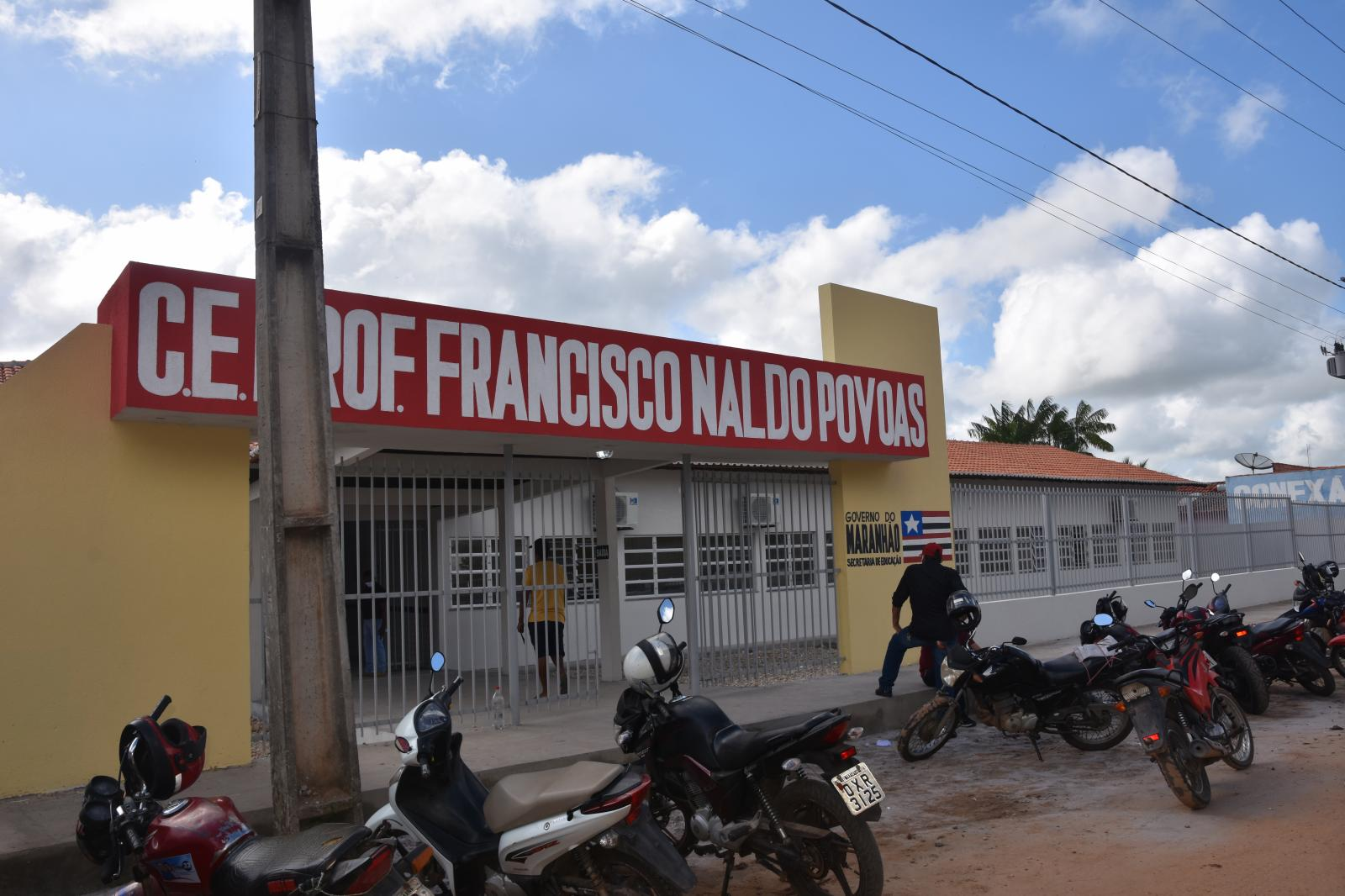 Governo do Estado inaugurou a sua primeira escola de Ensino Médio em Maracaçumé